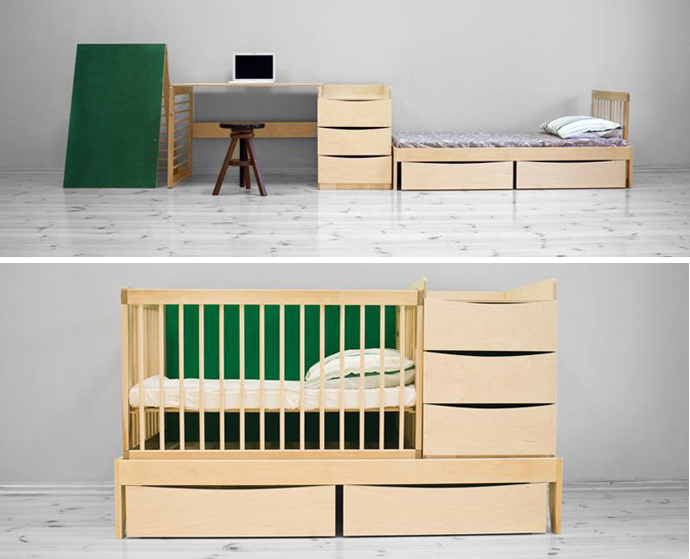 Smart Kid Multi Functional Furniture