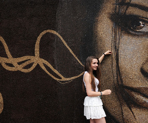 Mural Made out of 1 Million Coffee Beans