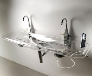 Musical Washbasin design from WET