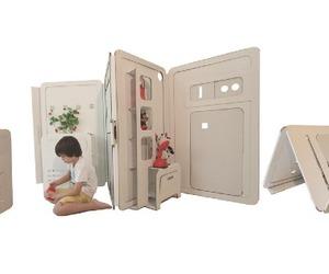 My Space Cardboard Playhouse