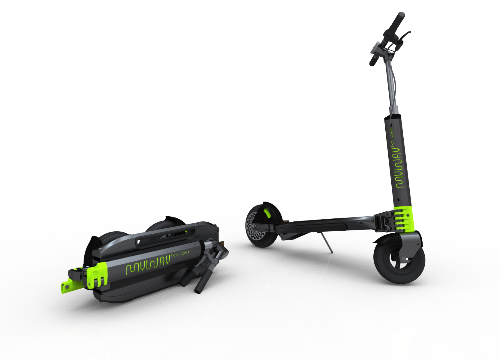 Myway Is A New Brand Of Portable E Scooters