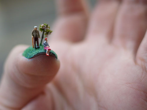 Nail Art Tiny Sculpturesthat Stand Apart