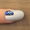 Nail Art To Market The New Kia Picanto