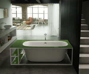 Naked Tub from Glass Idromassaggio