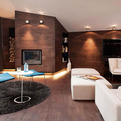 The Loft in Bansko with Natural Color Palette