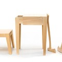 Natural Furniture Set Made From Soft White Pine
