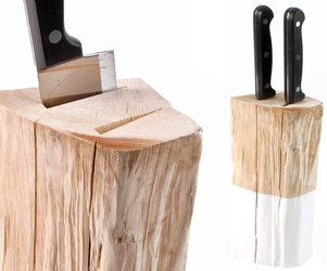 Natural Knife Block