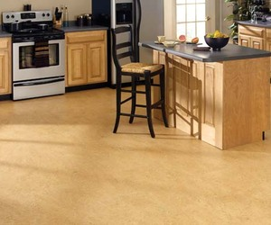 Natural Lino Corkoleum from USFloors