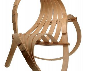 Natural Lounge Chair by Tom Raffield