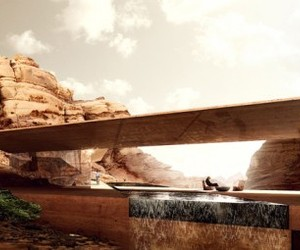 Natural Perfection Emerge in Desert Lodges