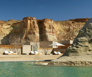 Nature Carved Utah Amangiri Resort