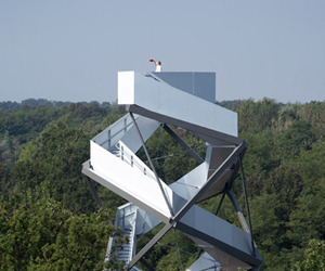 Nature Reserve Observation Tower by terrain:loenhart&mayr