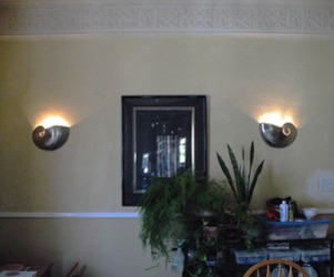 Nautilus Shell Sconces