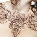 Necklaces Made of Human Hair