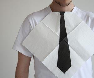 Necktie Napkins by Hector Serrano