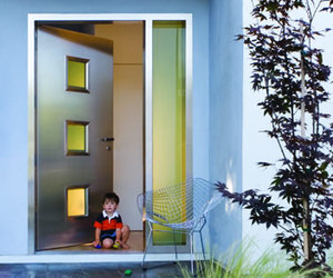 Neoporte Aquity Steel and Glass Door