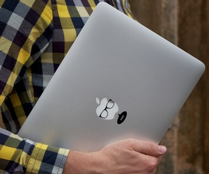 Nerd MacBook Decal by MacStickrs
