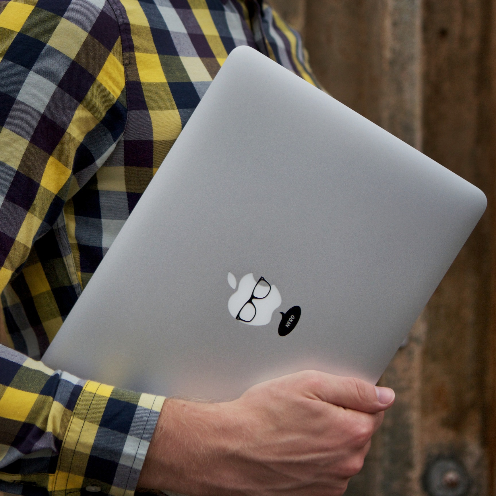 Nerd Macbook Decal By Macstickrs