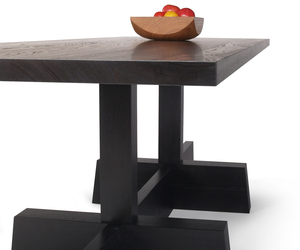 Neutral Series Trestle Table