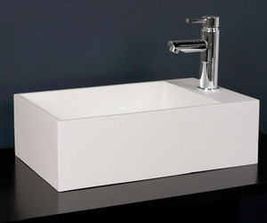 Nevie Resin Industrial Sink by Whittington Collection