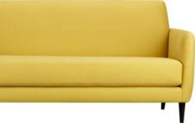 new CB2 Lemongrass Sofa