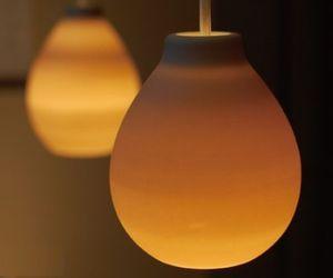 New Ceramic Pendant Lamps by Hikaru Yajima