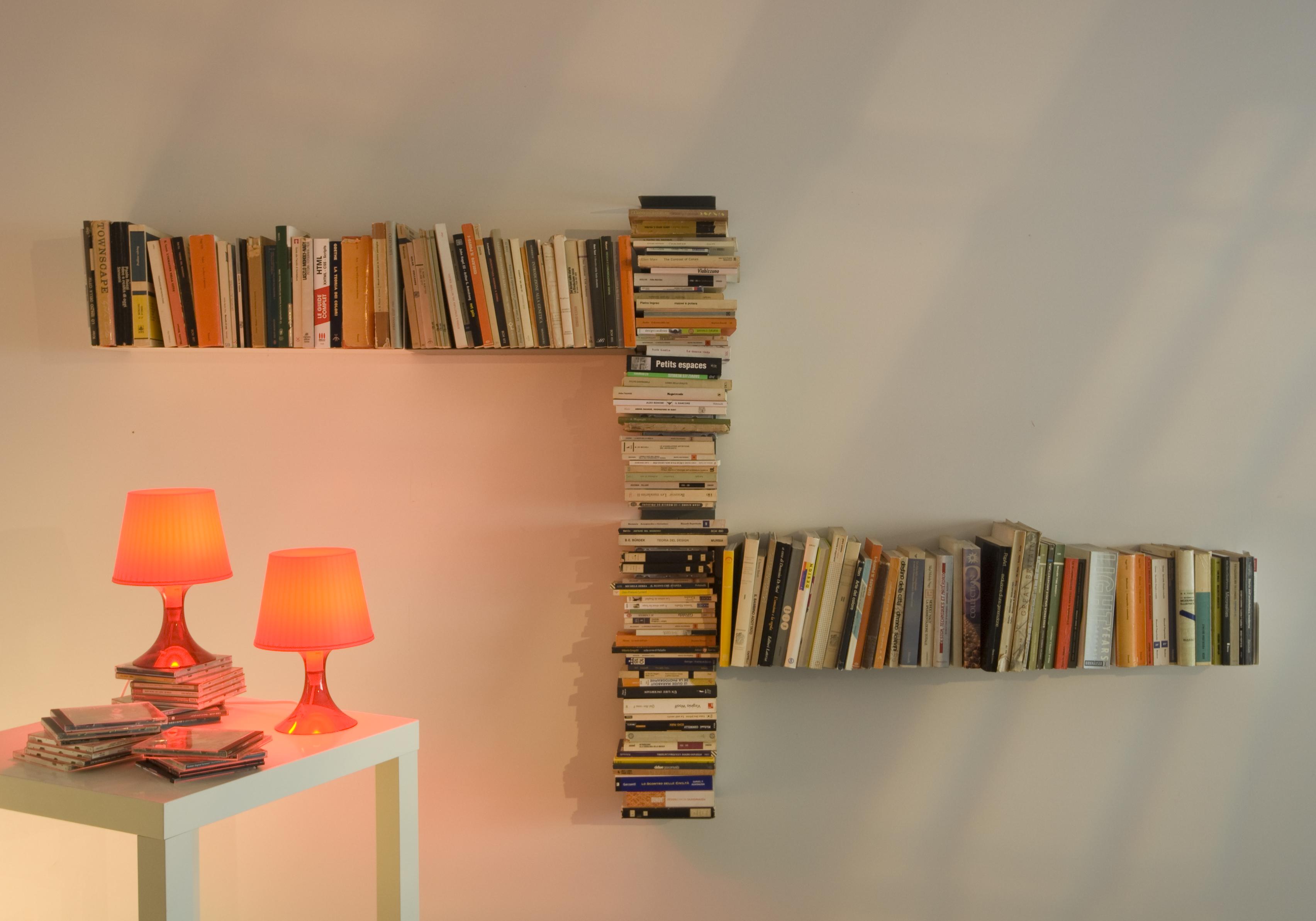 Teebooks - невидимые книжные полки / surfingbird - мы делаем.