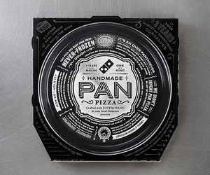 New Dominos Handmade Pan Pizza Box | CP+B
