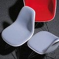 New Fully Upholstered Eames Chairs