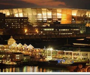 New Greenpoint of Soccer City Stadium in Cape Town