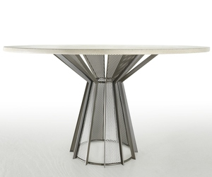 New James DeWulf Concrete Dining Table