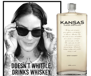 New Kansas Whiskey Targets Hipsters.
