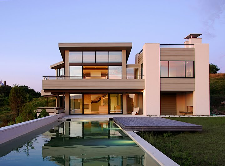 Simple Home Modern House Designs Pictures Very Simple: New Modern Home In Montauk, NY