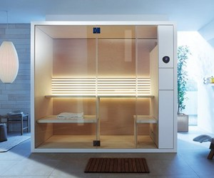 New Modern Saunas In Smaller Sizes by EOOS For Duravit.