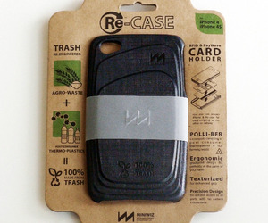 New Re-Case Iphone 4s Case made from Trash