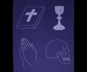 New Religion Blanket By Damien Hirst