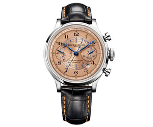 New Retro Chronograph Design | Baume & Mercier