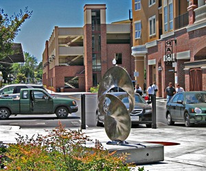 New sculpture displayed in downtown Napa