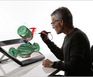 New Virtual-Holographic Display Tool by Infinite z