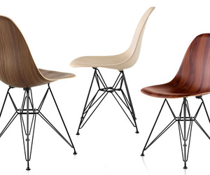 New Wood Molded Eames Chairs From Herman Miller