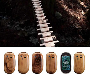 New Wood Phone & Amazing TV Commercial