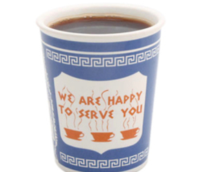 New York Greek Ceramic Cup