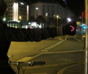 Night Biking Gloves