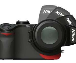 NIKON D5R DIGITAL SLR CAMERA CONCEPT