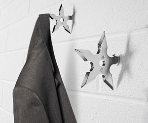 Ninja Star Coat Hook