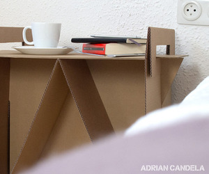 Nit nightstand by Adrian Candela