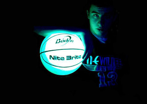 Nite Brite Glow in the Dark Basketball by Baden