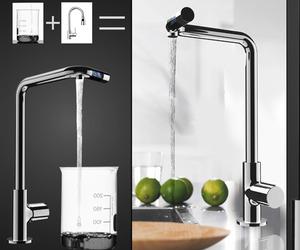 No More No Less Faucet by Jasper Hou