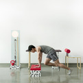 No, Sweat! Workspace Workout Furniture by Darryl Agawin