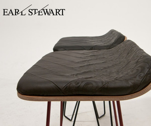 Noho stool by Earl Stewart